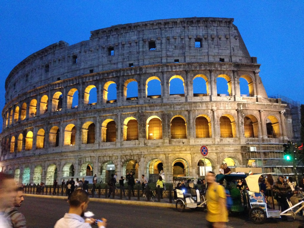 Student Diaries:  Aadil Naik's Three Days in Rome.