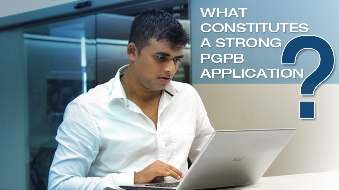 What Constitutes A Strong PGPB Application?