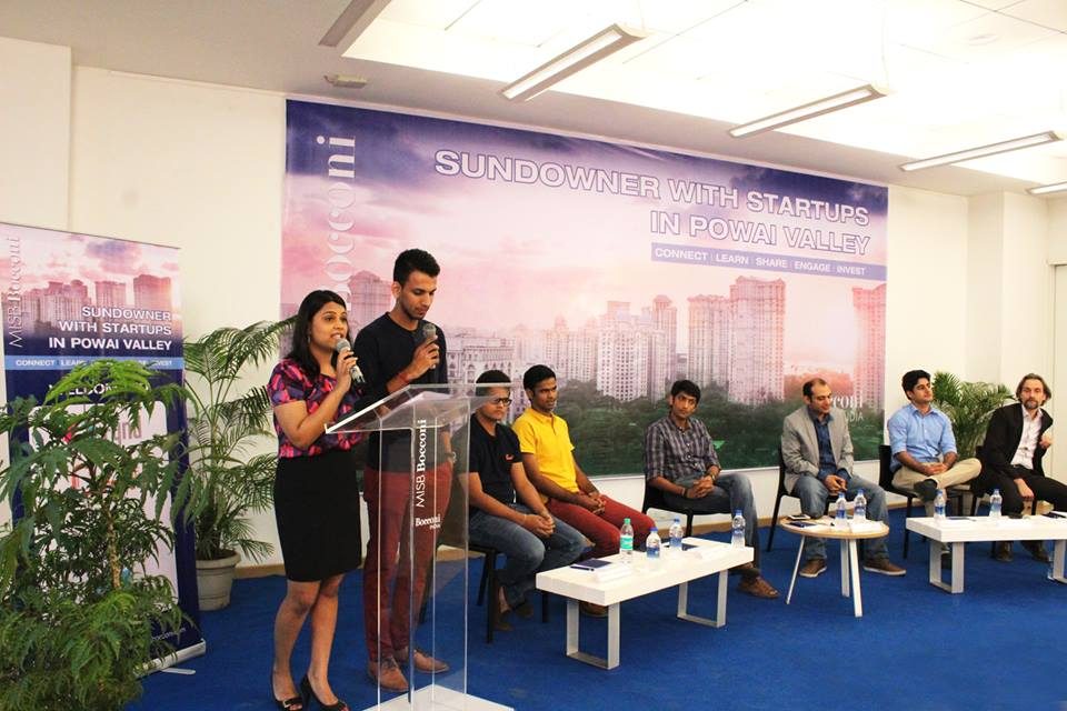 Sundowner With Startups: MISB Bocconi and Entrepreneurship in Powai