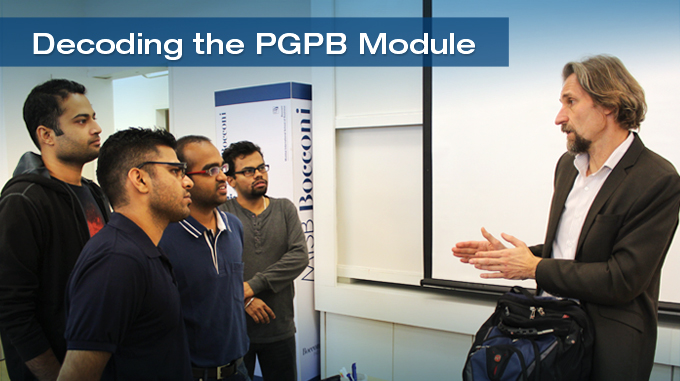 Decoding the PGPB: Module 1