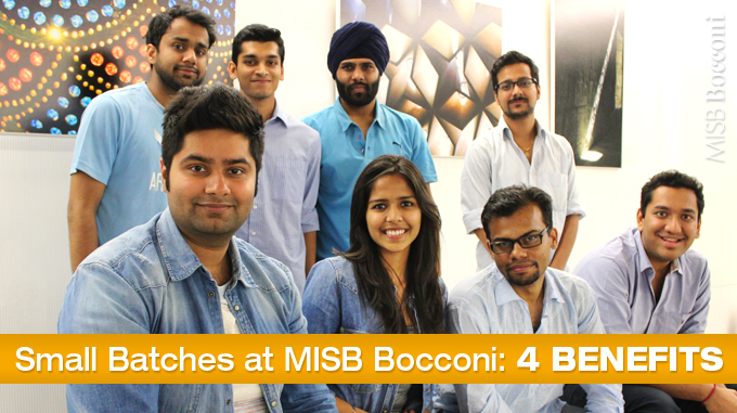 Small Batches at MISB Bocconi: Four Benefits