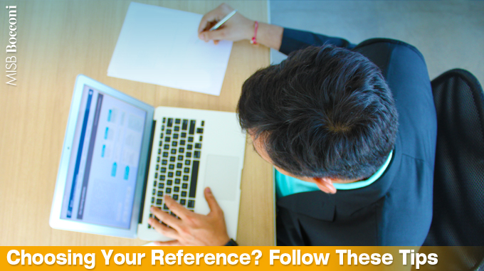 Choosing Your Reference For Bschool Application? Follow These Four Tips