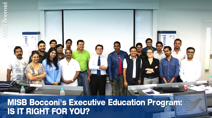 MISB Bocconi's Executive Education Program: Is It Right For You?