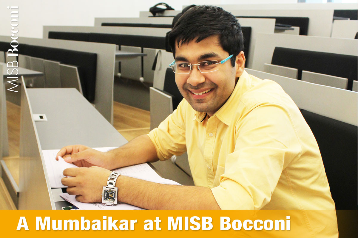 A Mumbaikar at MISB Bocconi
