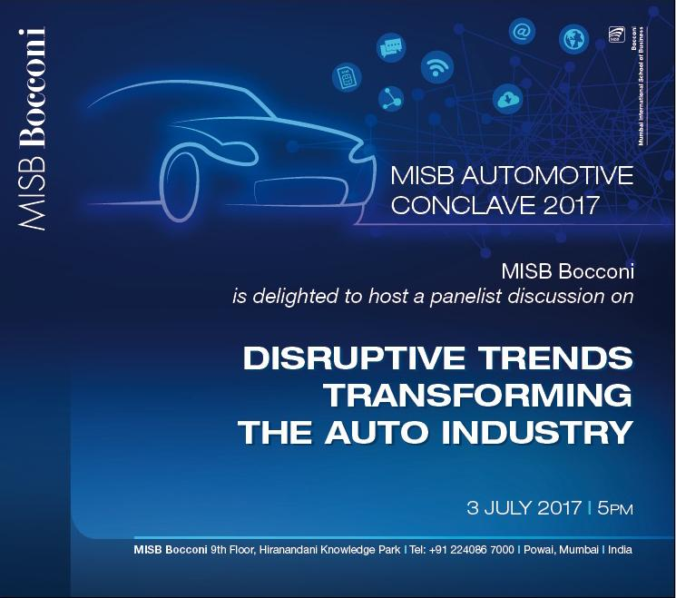 MISB Bocconi Automotive Conclave 2017