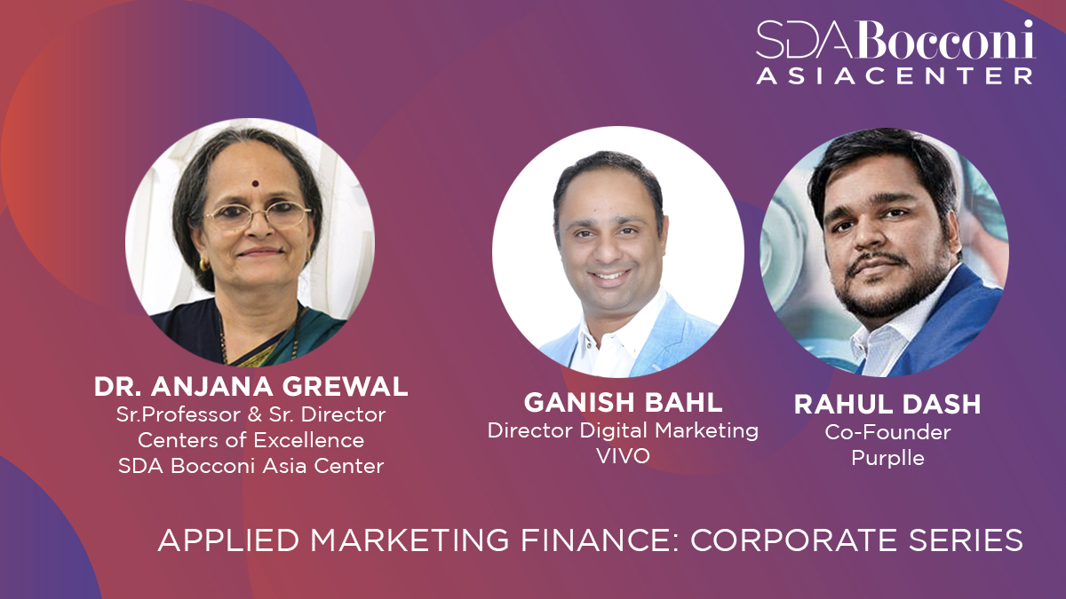 Applied Marketing Finance: Corporate series by Professor Anjana Grewal