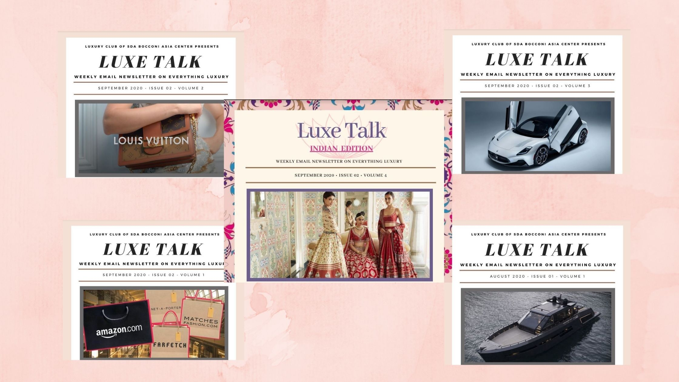 Luxe Talk – Newsletter by Luxury Club